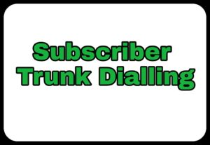 Subscriber Trunk Dialling